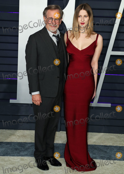Sasha, Steven Spielberg, Wallis Annenberg Photo - BEVERLY HILLS, LOS ANGELES, CA, USA - FEBRUARY 24: Steven Spielberg and daughter Sasha Speilberg arrive at the 2019 Vanity Fair Oscar Party held at the Wallis Annenberg Center for the Performing Arts on February 24, 2019 in Beverly Hills, Los Angeles, California, United States. (Photo by Xavier Collin/Image Press Agency)