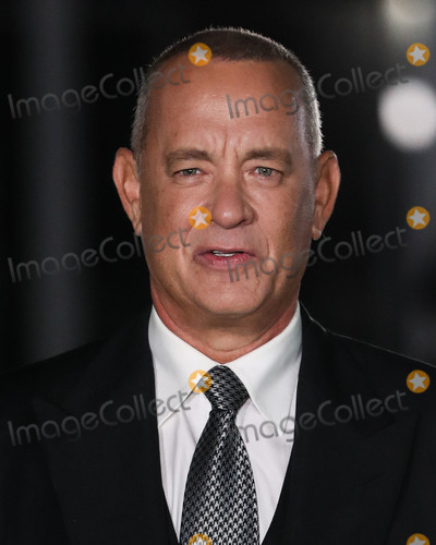 Photo - LOS ANGELES, CALIFORNIA, USA - SEPTEMBER 25: Actor Tom Hanks arrives at the Academy Museum of Motion Pictures Opening Gala held at the Academy Museum of Motion Pictures on September 25, 2021 in Los Angeles, California, United States. (Photo by Xavier Collin/Image Press Agency)