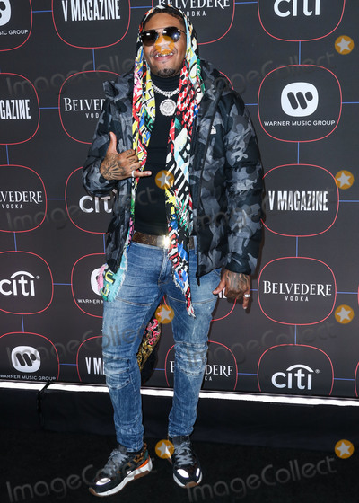 Madness Photo - LOS ANGELES, CA, USA - FEBRUARY 07: Rapper Euro Gotit arrives at the Warner Music Pre-Grammy Party 2019 held at The NoMad Hotel Los Angeles on February 7, 2019 in Los Angeles, California, United States. (Photo by Xavier Collin/Image Press Agency)