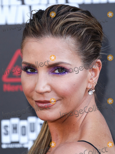 Charisma Carpenter, Saturn Awards Photo - HOLLYWOOD, LOS ANGELES, CALIFORNIA, USA - SEPTEMBER 13: Actress Charisma Carpenter arrives at the 45th Annual Saturn Awards held at Avalon Hollywood on September 13, 2019 in Hollywood, Los Angeles, California, United States. (Photo by David Acosta/Image Press Agency)