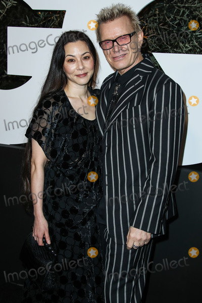 Billy Idol, China Chow Photo - WEST HOLLYWOOD, LOS ANGELES, CALIFORNIA, USA - DECEMBER 05: China Chow and Billy Idol arrive at the 2019 GQ Men Of The Year Party held at The West Hollywood EDITION Hotel on December 5, 2019 in West Hollywood, Los Angeles, California, United States. (Photo by Xavier Collin/Image Press Agency)