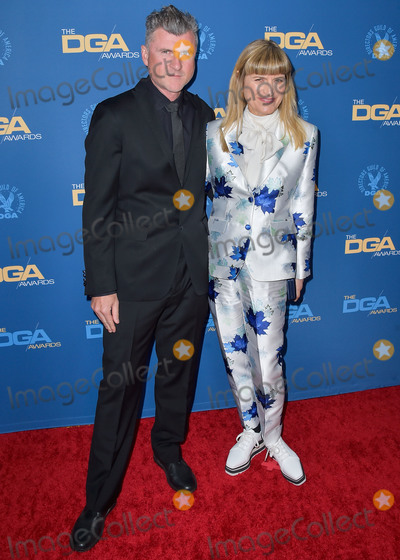 Catherine Hardwicke, Jamie Salé, RITZ CARLTON, The Ritz Photo - LOS ANGELES, CALIFORNIA, USA - JANUARY 25: Jamie Marshall and Catherine Hardwicke arrive at the 72nd Annual Directors Guild Of America Awards held at The Ritz-Carlton Hotel at L.A. Live on January 25, 2020 in Los Angeles, California, United States. (Photo by Image Press Agency)