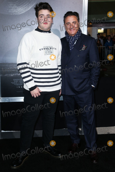 Andres Garcia, Andy Garcia Photo - WESTWOOD, LOS ANGELES, CA, USA - DECEMBER 10: Andres Garcia Lorido and father/actor Andy Garcia arrive at the Los Angeles Premiere of Warner Bros. Pictures' 'The Mule' held at the Regency Village Theatre on December 10, 2018 in Westwood, Los Angeles, California, United States. (Photo by Image Press Agency)