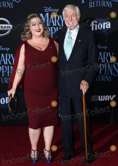 Dick Van Dyke, Arlene Silver Photo - HOLLYWOOD, LOS ANGELES, CA, USA - NOVEMBER 29: Arlene Silver, Dick Van Dyke arrive at the World Premiere Of Disney's 'Mary Poppins Returns' held at the El Capitan Theatre on November 29, 2018 in Hollywood, Los Angeles, California, United States. (Photo by David Acosta/Image Press Agency)