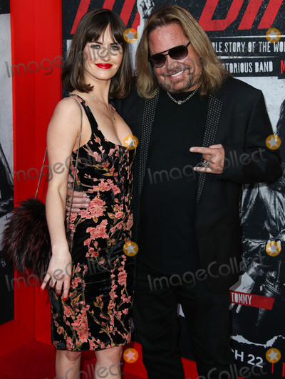 Vince Neil, Alexanne Wagner Photo - HOLLYWOOD, LOS ANGELES, CA, USA - MARCH 18: Alexanne Wagner and musician Vince Neil arrive at the Los Angeles Premiere Of Netflix's 'The Dirt' held at ArcLight Cinemas Hollywood on March 18, 2019 in Hollywood, Los Angeles, California, United States. (Photo by Xavier Collin/Image Press Agency)