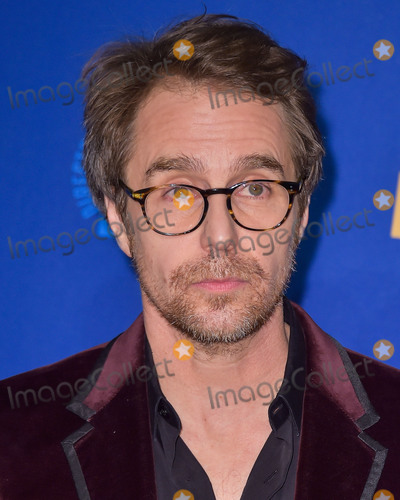 Sam Rockwell, RITZ CARLTON, The Ritz Photo - LOS ANGELES, CALIFORNIA, USA - JANUARY 25: Sam Rockwell poses in the press room at the 72nd Annual Directors Guild Of America Awards held at The Ritz-Carlton Hotel at L.A. Live on January 25, 2020 in Los Angeles, California, United States. (Photo by Image Press Agency)