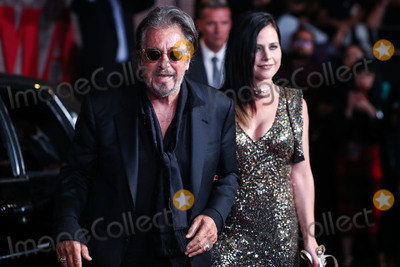 Al Pacino, Meital Dohan, TCL Chinese Theatre Photo - HOLLYWOOD, LOS ANGELES, CALIFORNIA, USA - OCTOBER 24: Actor Al Pacino and girlfriend Meital Dohan arrive at the Los Angeles Premiere Of Netflix's 'The Irishman' held at TCL Chinese Theatre IMAX on October 24, 2019 in Hollywood, Los Angeles, California, United States. (Photo by Xavier Collin/Image Press Agency)