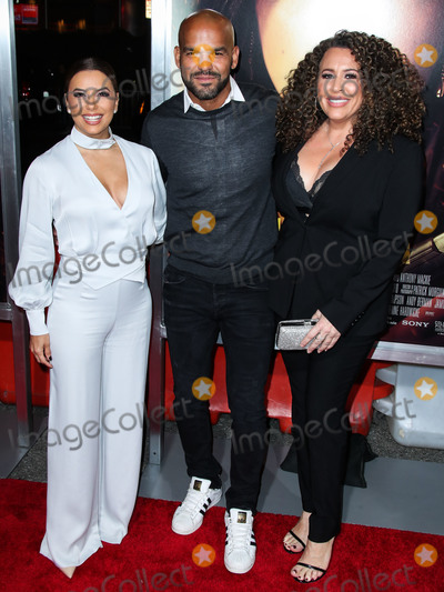 Amaury Nolasco, Diana Maria Riva, Diana-Maria Riva, Eva Longoria, Maria Riva, Anna Maria Perez de Taglé, Eva Herzigová Photo - LOS ANGELES, CA, USA - JANUARY 30: Eva Longoria, Amaury Nolasco and Diana Maria Riva arrive at the Los Angeles Premiere Of Columbia Pictures' 'Miss Bala' held at Regal Cinemas L.A. Live Stadium 14 on January 30, 2019 in Los Angeles, California, United States. (Photo by Xavier Collin/Image Press Agency)