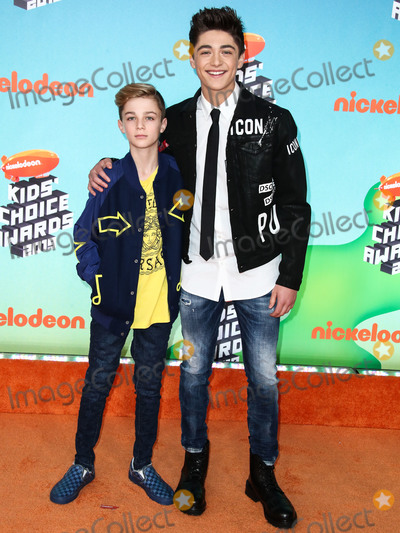 Asher Angel, Avi Angel, Angel Asher Photo - LOS ANGELES, CA, USA - MARCH 23: Avi Angel and Asher Angel arrive at Nickelodeon's 2019 Kids' Choice Awards held at the USC Galen Center on March 23, 2019 in Los Angeles, California, United States. (Photo by Xavier Collin/Image Press Agency)