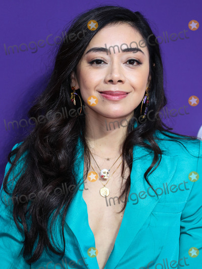 Aimee Garcia Photo - CENTURY CITY, LOS ANGELES, CALIFORNIA, USA - OCTOBER 06: Actress Aimee Garcia arrives at the World Premiere Of MGM's 'The Addams Family' held at the Westfield Century City AMC on October 6, 2019 in Century City, Los Angeles, California, United States. (Photo by Xavier Collin/Image Press Agency)
