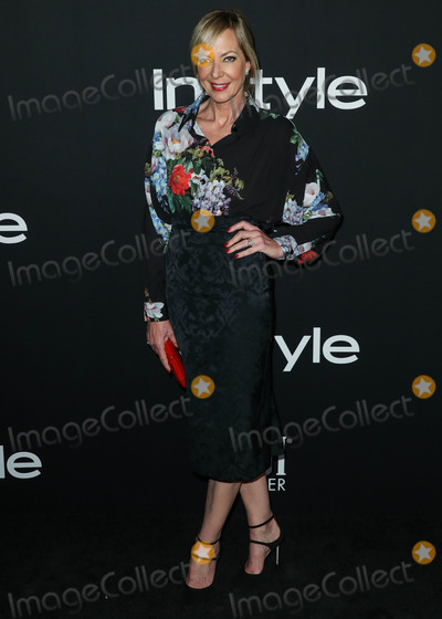 Allison Janney, Antonio Marras, Tamara Mellon Photo - LOS ANGELES, CA, USA - OCTOBER 22: Actress Allison Janney wearing Antonio Marras with Tamara Mellon shoes, EF Collection and Norman Silverman Diamonds jewelry, and a Tyler Ellis clutch arrives at the InStyle Awards 2018 held at the Getty Center on October 22, 2018 in Los Angeles, California, United States. (Photo by Xavier Collin/Image Press Agency)