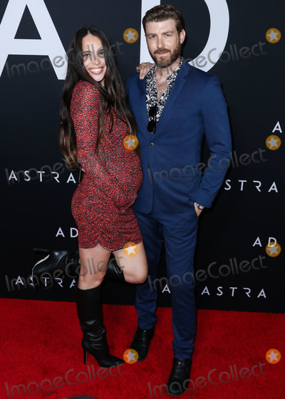 Photos And Pictures Hollywood Los Angeles California Usa September 18 Chelsea Tyler And Jon Foster Arrive At The Los Angeles Premiere Of 20th Century Fox S Ad Astra Held At Arclight