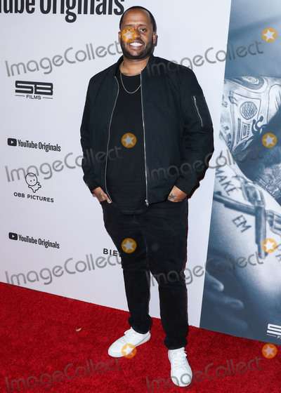 Justin Bieber Photo - WESTWOOD, LOS ANGELES, CALIFORNIA, USA - JANUARY 27: Kenny Hamilton arrives at the Los Angeles Premiere Of YouTube Originals' 'Justin Bieber: Seasons' held at the Regency Bruin Theatre on January 27, 2020 in Westwood, Los Angeles, California, United States. (Photo by Xavier Collin/Image Press Agency)