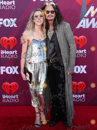 Steven Tyler, Aimee Preston Photo - LOS ANGELES, CA, USA - MARCH 14: Aimee Preston and partner/singer Steven Tyler arrive at the 2019 iHeartRadio Music Awards held at Microsoft Theater at L.A. Live on March 14, 2019 in Los Angeles, California, United States. (Photo by Xavier Collin/Image Press Agency)