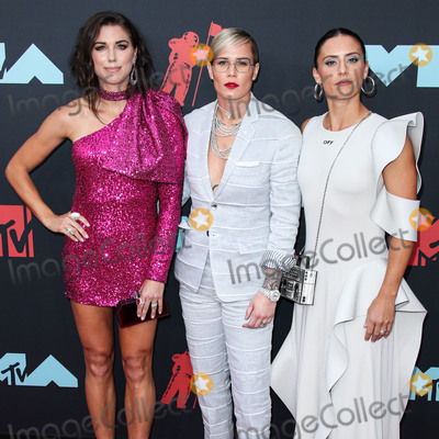 Alex Morgan, Ali Krieger, Ashlyn Harris Photo - NEWARK, NEW JERSEY, USA - AUGUST 26: American soccer players Alex Morgan, Ashlyn Harris and Ali Krieger arrive at the 2019 MTV Video Music Awards held at the Prudential Center on August 26, 2019 in Newark, New Jersey, United States. (Photo by Xavier Collin/Image Press Agency)