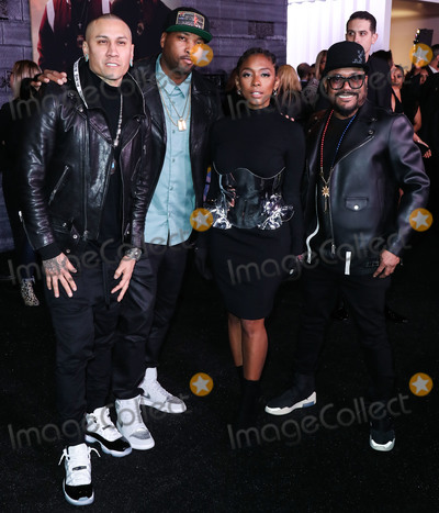 apl.de.ap, Keith Harris, Taboo, TCL Chinese Theatre, Anna Maria Perez de Taglé, Hüsker Dü, Isaach De Bankolé, Jessica Paré Photo - HOLLYWOOD, LOS ANGELES, CALIFORNIA, USA - JANUARY 14: Taboo, Keith Harris, Jessica Reynoso and apl.de.ap arrive at the Los Angeles Premiere Of Columbia Pictures' 'Bad Boys For Life' held at the TCL Chinese Theatre IMAX on January 14, 2020 in Hollywood, Los Angeles, California, United States. (Photo by Xavier Collin/Image Press Agency)