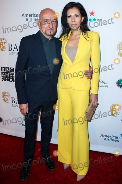 Ben Kingsley, Four Seasons, The Four Seasons, Daniela Lavender Photo - BEVERLY HILLS, LOS ANGELES, CA, USA - JANUARY 05: Actor Sir Ben Kingsley and wife Daniela Lavender arrive at the BAFTA (British Academy of Film and Television Arts) Los Angeles Tea Party 2019 held at the Four Seasons Hotel Los Angeles at Beverly Hills on January 5, 2019 in Beverly Hills, Los Angeles, California, United States. (Photo by Xavier Collin/Image Press Agency)