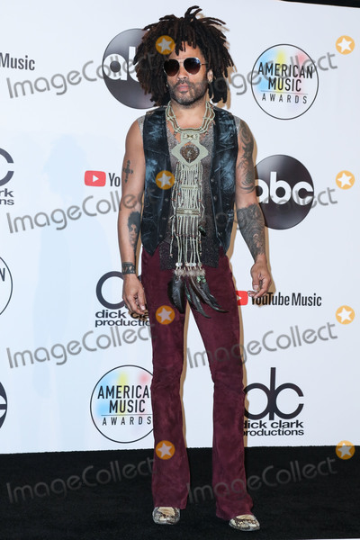 Lenny Kravitz Photo - LOS ANGELES, CA, USA - OCTOBER 09: Lenny Kravitz in the press room at the 2018 American Music Awards held at the Microsoft Theatre L.A. Live on October 9, 2018 in Los Angeles, California, United States. (Photo by Xavier Collin/Image Press Agency)