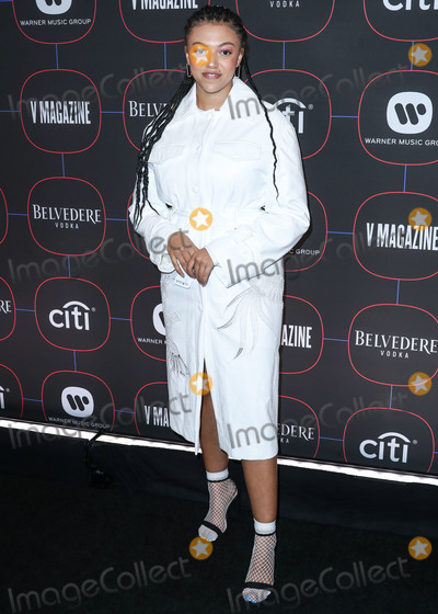 Madness Photo - LOS ANGELES, CA, USA - FEBRUARY 07: Singer Mahalia (Mahalia Burkmar) arrives at the Warner Music Pre-Grammy Party 2019 held at The NoMad Hotel Los Angeles on February 7, 2019 in Los Angeles, California, United States. (Photo by Xavier Collin/Image Press Agency)