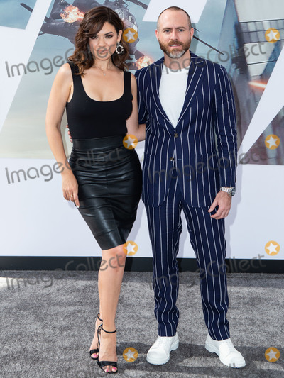 Angelica Celaya, Erik Hayser Photo - HOLLYWOOD, LOS ANGELES, CALIFORNIA, USA - JULY 13: Angelica Celaya and Erik Hayser arrive at the Los Angeles Premiere Of Universal Pictures' 'Fast & Furious Presents: Hobbs & Shaw' held at Dolby Theatre on July 13, 2019 in Hollywood, Los Angeles, California, United States. (Photo by Rudy Torres/Image Press Agency)