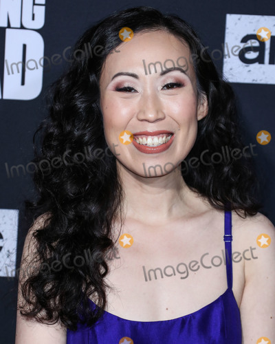 TCL Chinese Theatre, Angela Kang Photo - HOLLYWOOD, LOS ANGELES, CALIFORNIA, USA - SEPTEMBER 23: Angela Kang arrives at the Los Angeles Special Screening Of AMC's 'The Walking Dead' Season 10 held at the TCL Chinese Theatre IMAX on September 23, 2019 in Hollywood, Los Angeles, California, United States. (Photo by Xavier Collin/Image Press Agency)