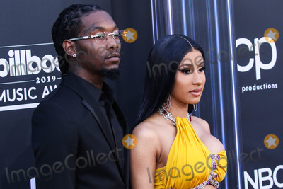 Cardi B., Cardi B Photo - (FILE) Cardi B Files for Divorce from Offset After 3 Years of Marriage. LAS VEGAS, NEVADA, USA - MAY 01: Rapper Offset (Kiari Kendrell Cephus) and wife/rapper Cardi B (Belcalis Marlenis Almanzar) arrive at the 2019 Billboard Music Awards held at the MGM Grand Garden Arena on May 1, 2019 in Las Vegas, Nevada, United States. (Photo by Xavier Collin/Image Press Agency)