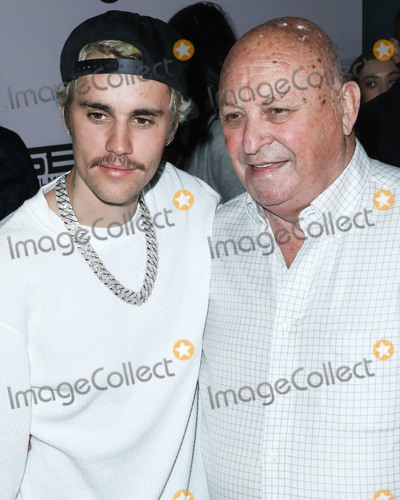 Justin Bieber, Salvador Dalí Photo - WESTWOOD, LOS ANGELES, CALIFORNIA, USA - JANUARY 27: Justin Bieber and Bruce Dale arrive at the Los Angeles Premiere Of YouTube Originals' 'Justin Bieber: Seasons' held at the Regency Bruin Theatre on January 27, 2020 in Westwood, Los Angeles, California, United States. (Photo by Xavier Collin/Image Press Agency)