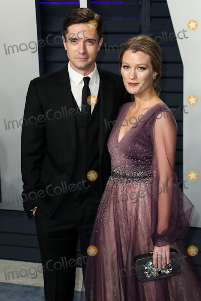 Ashley Hinshaw, Topher Grace, Wallis Annenberg Photo - BEVERLY HILLS, LOS ANGELES, CA, USA - FEBRUARY 24: Topher Grace and Ashley Hinshaw arrive at the 2019 Vanity Fair Oscar Party held at the Wallis Annenberg Center for the Performing Arts on February 24, 2019 in Beverly Hills, Los Angeles, California, United States. (Photo by Xavier Collin/Image Press Agency)