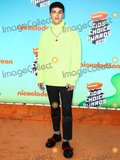 AJ Mitchell Photo - LOS ANGELES, CA, USA - MARCH 23: AJ Mitchell arrives at Nickelodeon's 2019 Kids' Choice Awards held at the USC Galen Center on March 23, 2019 in Los Angeles, California, United States. (Photo by Xavier Collin/Image Press Agency)