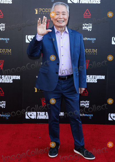 George Takei, Saturn Awards Photo - HOLLYWOOD, LOS ANGELES, CALIFORNIA, USA - SEPTEMBER 13: George Takei arrives at the 45th Annual Saturn Awards held at Avalon Hollywood on September 13, 2019 in Hollywood, Los Angeles, California, United States. (Photo by David Acosta/Image Press Agency)