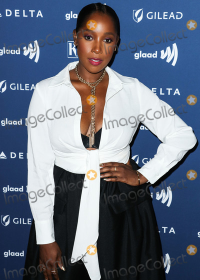 Ashley Blaine Photo - BEVERLY HILLS, LOS ANGELES, CALIFORNIA, USA - MARCH 28: Ashley Blaine Featherson arrives at the 30th Annual GLAAD Media Awards held at The Beverly Hilton Hotel on March 28, 2019 in Beverly Hills, Los Angeles, California, United States. (Photo by Xavier Collin/Image Press Agency)