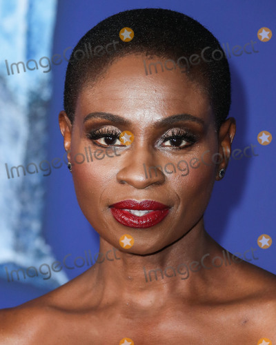 Adina Porter Photo - HOLLYWOOD, LOS ANGELES, CALIFORNIA, USA - NOVEMBER 07: Adina Porter arrives at the World Premiere Of Disney's 'Frozen 2' held at the Dolby Theatre on November 7, 2019 in Hollywood, Los Angeles, California, United States. (Photo by Xavier Collin/Image Press Agency)