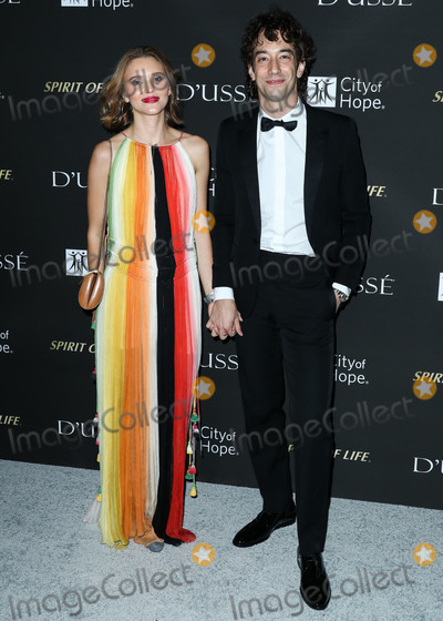 Albert Hammond, Albert Hammond Jr, Albert Hammond Jr., Albert Hammond, Jr. Photo - SANTA MONICA, LOS ANGELES, CA, USA - OCTOBER 11: Justyna Sroka, Albert Hammond Jr. at the City Of Hope Gala 2018 held at Barker Hangar on October 11, 2018 in Santa Monica, Los Angeles, California, United States. (Photo by Xavier Collin/Image Press Agency)