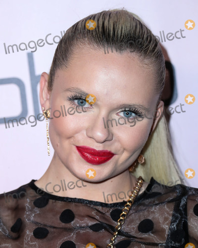 Alli Simpson Photo - WEST HOLLYWOOD, LOS ANGELES, CALIFORNIA, USA - NOVEMBER 07: Model Alli Simpson arrives at the boohoo x All That Glitters Launch Party held at Nightingale Plaza on November 7, 2019 in West Hollywood, Los Angeles, California, United States. (Photo by Xavier Collin/Image Press Agency)