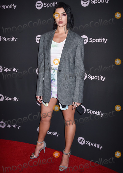 Calvin Klein, Dua Lipa Photo - LOS ANGELES, CA, USA - FEBRUARY 07: Singer Dua Lipa wearing Calvin Klein arrives at the Spotify Best New Artist Party 2019 held at the Hammer Museum on February 7, 2019 in Los Angeles, California, United States. (Photo by Image Press Agency)