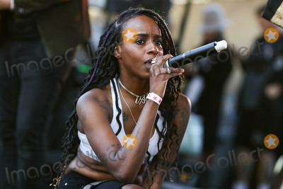Angel Haze Photo - CALABASAS, LOS ANGELES, CA, USA - DECEMBER 02: Rapper Angel Haze, Raykeea Raeen-Roes Wilson performs onstage at the One Love Malibu Festival Benefit Concert For Woolsey Fire Recovery held at the King Gillette Ranch on December 2, 2018 in Calabasas, Los Angeles, California, United States. (Photo by Xavier Collin/Image Press Agency)
