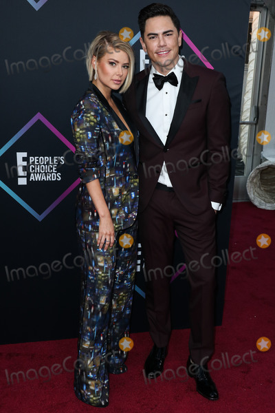Tom Sandoval, Ariana Madix Photo - SANTA MONICA, LOS ANGELES, CA, USA - NOVEMBER 11: Ariana Madix, Tom Sandoval at the People's Choice Awards 2018 held at Barker Hangar on November 11, 2018 in Santa Monica, Los Angeles, California, United States. (Photo by Xavier Collin/Image Press Agency)