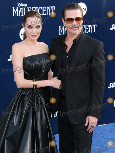 "Angelina Jolie, Brad Pitt, ANGELINA JOLIE, Photo - (FILE) Angelina Jolie talks Brad Pitt divorce: ""I felt a deep and genuine sadness"". HOLLYWOOD, LOS ANGELES, CALIFORNIA, USA - MAY 28: Actors Angelina Jolie Pitt (wearing Atelier Versace) and Brad Pitt (wearing Gucci) arrive at the World Premiere of Disney's 'Maleficent' held at the El Capitan Theatre on May 28, 2014 in Hollywood, Los Angeles, California, United States. (Photo by Xavier Collin/Image Press Agency)"
