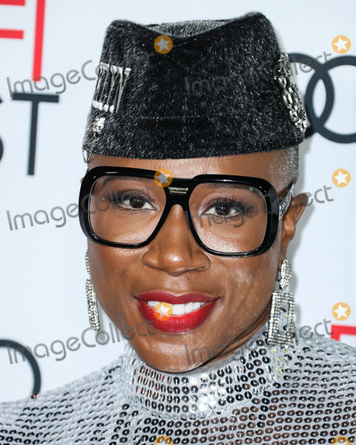 Aisha Hinds, Queen, TCL Chinese Theatre Photo - HOLLYWOOD, LOS ANGELES, CALIFORNIA, USA - NOVEMBER 14: Aisha Hinds arrives at the AFI FEST 2019 - Opening Night Gala - Premiere Of Universal Pictures' 'Queen And Slim' held at the TCL Chinese Theatre IMAX on November 14, 2019 in Hollywood, Los Angeles, California, United States. (Photo by Xavier Collin/Image Press Agency)