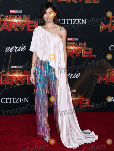 Gemma Chan Photo - HOLLYWOOD, LOS ANGELES, CA, USA - MARCH 04: Actress Gemma Chan arrives at the World Premiere Of Marvel Studios 'Captain Marvel' held at the El Capitan Theatre on March 4, 2019 in Hollywood, Los Angeles, California, United States. (Photo by Xavier Collin/Image Press Agency)