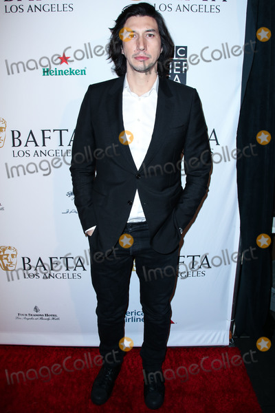 Four Seasons, The Four Seasons, Adam Driver Photo - BEVERLY HILLS, LOS ANGELES, CA, USA - JANUARY 05: Actor Adam Driver arrives at the BAFTA (British Academy of Film and Television Arts) Los Angeles Tea Party 2019 held at the Four Seasons Hotel Los Angeles at Beverly Hills on January 5, 2019 in Beverly Hills, Los Angeles, California, United States. (Photo by Xavier Collin/Image Press Agency)