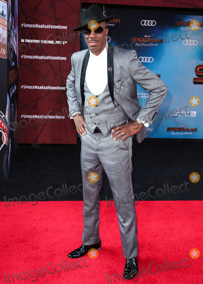 J.B. Smoove, JB Smoove, Spider Man, Spider-Man, Spiderman, TCL Chinese Theatre Photo - HOLLYWOOD, LOS ANGELES, CALIFORNIA, USA - JUNE 26: J.B. Smoove arrives at the Los Angeles Premiere Of Sony Pictures' 'Spider-Man Far From Home' held at the TCL Chinese Theatre IMAX on June 26, 2019 in Hollywood, Los Angeles, California, United States. (Photo by Xavier Collin/Image Press Agency)