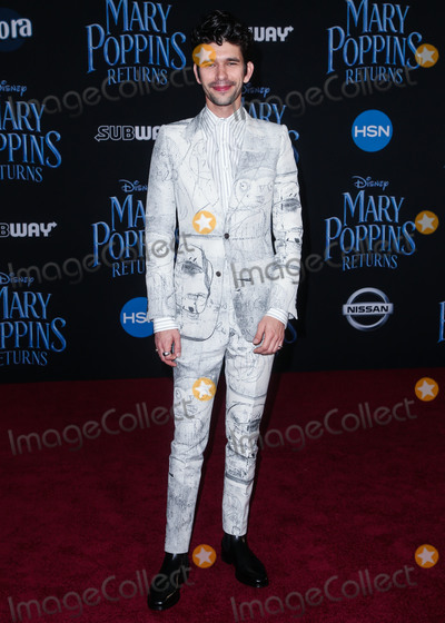 Ben Whishaw Photo - HOLLYWOOD, LOS ANGELES, CA, USA - NOVEMBER 29: Ben Whishaw at the Los Angeles Premiere Of Disney's 'Mary Poppins Returns' held at the El Capitan Theatre on November 29, 2018 in Hollywood, Los Angeles, California, United States. (Photo by Image Press Agency)
