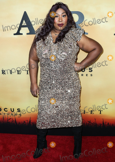 Photo - LOS ANGELES, CALIFORNIA, USA - OCTOBER 29: Awesome Kong (Kia Michelle Stevens) arrives at the Los Angeles Premiere Of Focus Features' 'Harriet' held at The Orpheum Theatre on October 29, 2019 in Los Angeles, California, United States. (Photo by Xavier Collin/Image Press Agency)