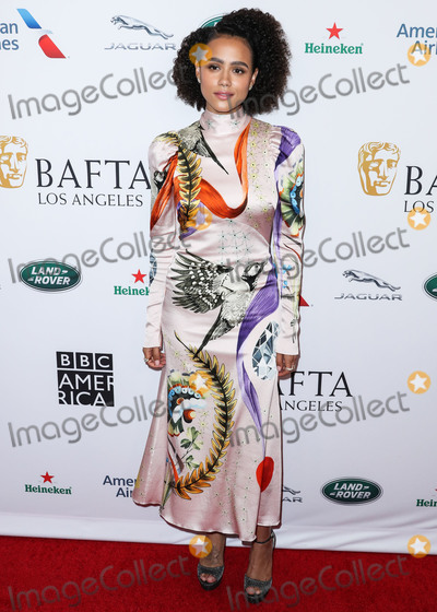 Nathalie ., Nathalie Emmanuel, Nathalie Emmanuelle Photo - BEVERLY HILLS, LOS ANGELES, CALIFORNIA, USA - SEPTEMBER 21: Actress Nathalie Emmanuel arrives at the BAFTA Los Angeles + BBC America TV Tea Party 2019 held at The Beverly Hilton Hotel on September 21, 2019 in Beverly Hills, Los Angeles, California, United States. (Photo by Xavier Collin/Image Press Agency)