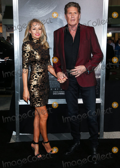 David Hasselhoff, Hayley Roberts Photo - WESTWOOD, LOS ANGELES, CA, USA - DECEMBER 10: Hayley Roberts and husband/actor David Hasselhoff arrive at the Los Angeles Premiere of Warner Bros. Pictures' 'The Mule' held at the Regency Village Theatre on December 10, 2018 in Westwood, Los Angeles, California, United States. (Photo by Image Press Agency)