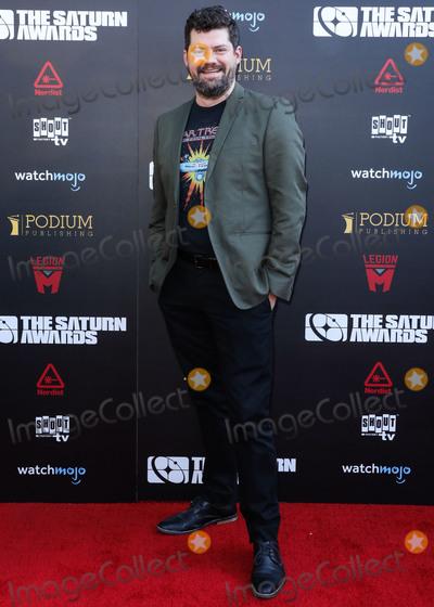 Saturn Awards Photo - HOLLYWOOD, LOS ANGELES, CALIFORNIA, USA - SEPTEMBER 13: Eric Hauserman Carroll arrives at the 45th Annual Saturn Awards held at Avalon Hollywood on September 13, 2019 in Hollywood, Los Angeles, California, United States. (Photo by David Acosta/Image Press Agency)