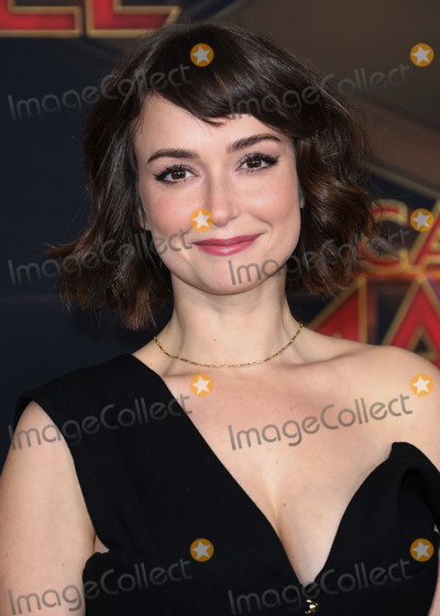 Milana Vayntrub Photo - HOLLYWOOD, LOS ANGELES, CA, USA - MARCH 04: Actress Milana Vayntrub arrives at the Los Angeles Premiere Of Marvel Studios 'Captain Marvel' held at the El Capitan Theatre on March 4, 2019 in Hollywood, Los Angeles, California, United States. (Photo by David Acosta/Image Press Agency)