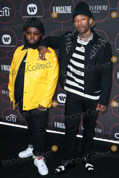 HR, Madness Photo - LOS ANGELES, CA, USA - FEBRUARY 07: Rappers 24hrs and Ty Dolla Sign (Ty Dolla $ign, Tyrone William Griffin Jr.) arrive at the Warner Music Pre-Grammy Party 2019 held at The NoMad Hotel Los Angeles on February 7, 2019 in Los Angeles, California, United States. (Photo by Xavier Collin/Image Press Agency)