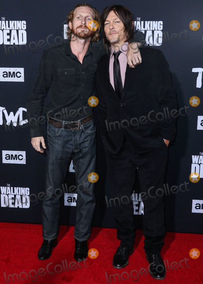 Norman Reedus, TCL Chinese Theatre, Austin Amelio Photo - HOLLYWOOD, LOS ANGELES, CALIFORNIA, USA - SEPTEMBER 23: Austin Amelio and Norman Reedus arrive at the Los Angeles Special Screening Of AMC's 'The Walking Dead' Season 10 held at the TCL Chinese Theatre IMAX on September 23, 2019 in Hollywood, Los Angeles, California, United States. (Photo by Xavier Collin/Image Press Agency)